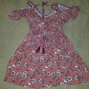 Juniors size meduim floral dress